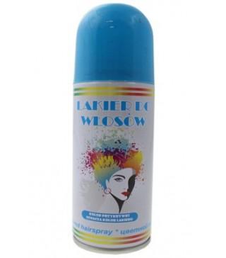 Лак для волосся блакитний