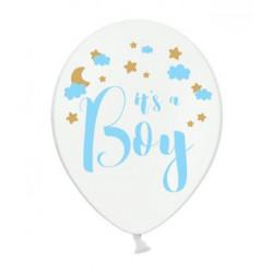 Повітряні кульки з  малюнком Its a Boy 50шт/уп