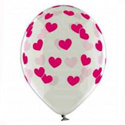 Повітряні кульки з рожевими...