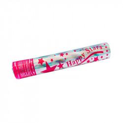 Хлопавка Зірочки 29см. конфеті фольга
