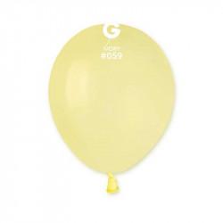 """Повітряні кульки пастель Айворі 5"""" 100 шт/уп"""