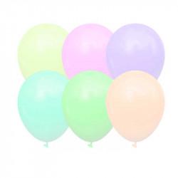 """Повітряні кульки макарун 5"""" Асорті 100 шт/уп"""