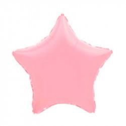 Повітряна кулька фольгована Зірка рожева