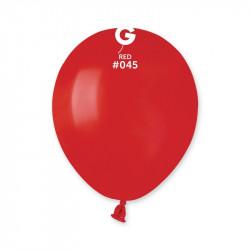 """Повітряні кульки червоні 5"""""""