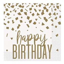 Серветки Happy Birthday...