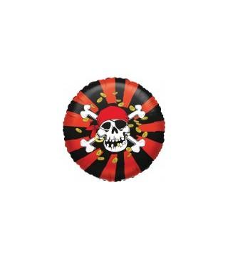 Кулька повітряна Череп пірата