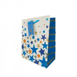 Подарунковий пакет Кольорові зірки