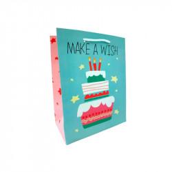 Подарунковий пакет Тортик 18*23*10см