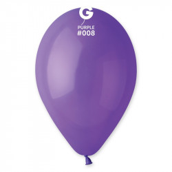 """Повітряні кульки фіолетові 10""""26см 100 шт/уп"""