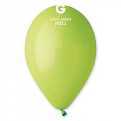 """Кульки 12""""пастель в уп Салат.100 шт GS110/12 111118 Gemar"""