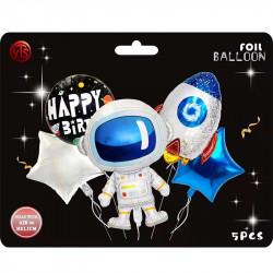 Набір кульок Космос 5 шт/уп