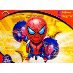 Набір кульок Спайдермен 5 шт/уп