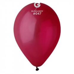 """Повітряні кульки бургунді 12"""" 100шт/уп"""