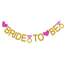 Гірлянда Bride to Be золота