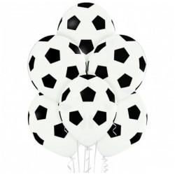 Повітряні кульки з футбольним принтом