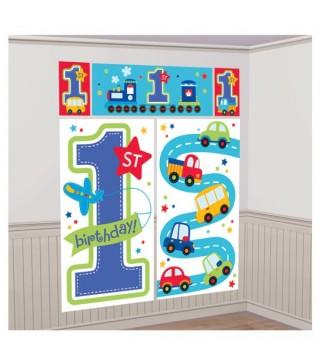 Банер на стену 1-st Birthday boy