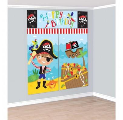 Баннер на стену Маленький пират