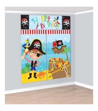 Банер на стіну Маленький пірат