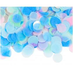 Конфеті кружечки блакитні 23мм