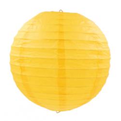 Паперова куля-ліхтар жовта...