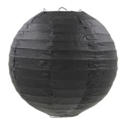 Паперова куля-ліхтар чорна...