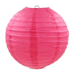 Паперова куля-ліхтар рожева...