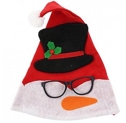 Шляпа новогодняя с очками