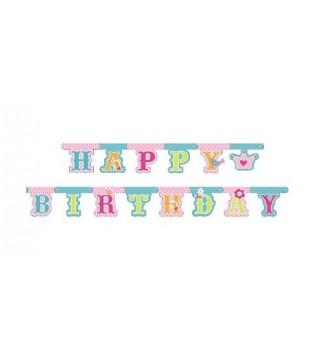 Гирлянда Happy Birthday