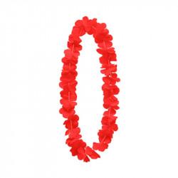 Леї гавайські Червоні тканина