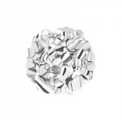 Конфеті кружечки срібні 15г...