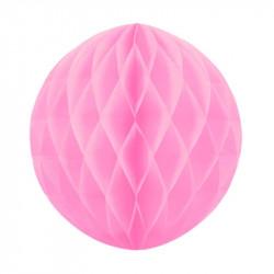Паперова куля-соти рожева 30см