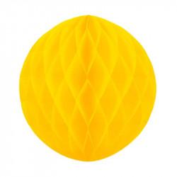 Паперова куля-соти жовті 30см
