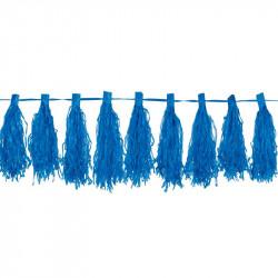 Гірлянда Тассел синя 3м...