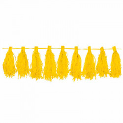 Гірлянда Тассел жовта 3м...