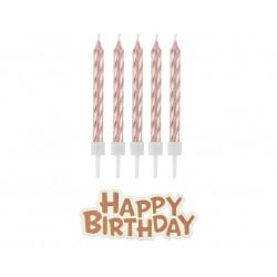 Свічки для торта Happy...
