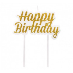 Свічка для торта Наppy...
