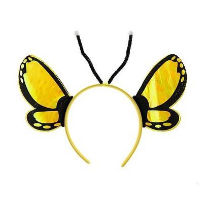 Обруч Бабочка желтая