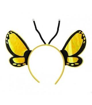 Обруч Метелик жовтий