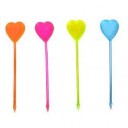 Піка Серце кольорове 30шт/уп