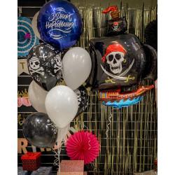 Фонтан з кульок Піратський №63