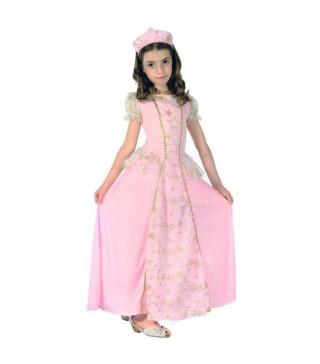 Костюм принцеси рожевий зі зірочками