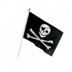 Прапор Череп пірата  40х33см