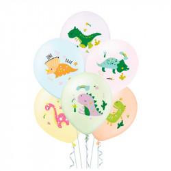 Набір кульок Динозавр 6шт/уп