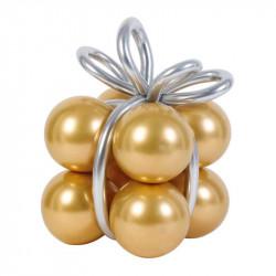 Набір кульок золото хром...