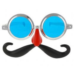Окуляри Джумбо з вусами