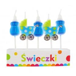 Свічки для торта Малятко...