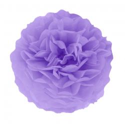 Декорація Помпон фіолетовий 25см1шт/уп. папір 511740 PartyPal 25см(р)