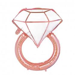 Кульки фігур. Колечко з діамантом (3г) 80*67см фольга 460470 PartyPal