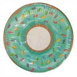 Тарілки паперові Пончик 8шт/уп