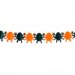 Гірлянда Павуки помаранчеві 3м